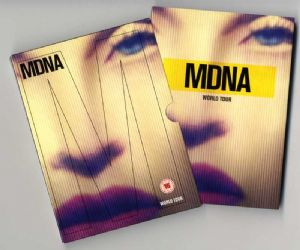 MDNA WORLD TOUR - EUROPE DELUXE DVD + 2CD SET